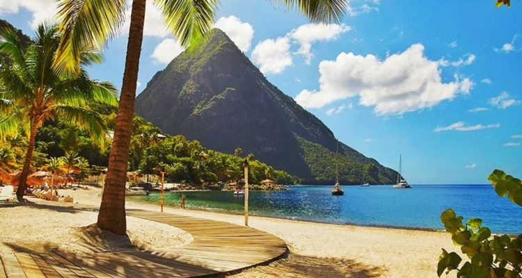 St. Lucia offers a tropical haven with a rich cultural history and does so without the overwhelming crowds found in other Caribbean destinations. (Photo: St. Lucia Travel Authority) (Pitons in St Lucia) The Pitons in St. Lucia are an iconic geographic feature, and a UESCO World Heritage Site. (Photo: St. Lucia Travel Authority)
