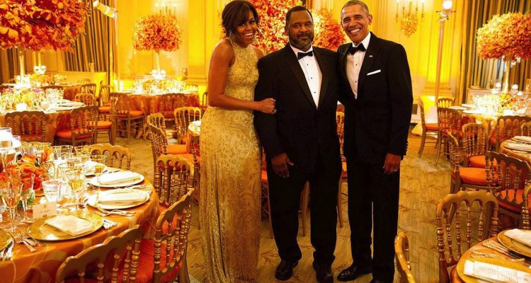"""William """"Buddy"""" Carter worked at The White House and at nearby Blair House for over 47 years. (Photo: Michelle Obama Facebook Profile page)"""